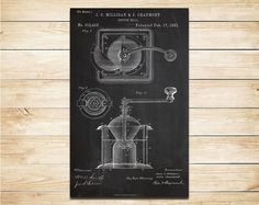 Bigycle patent poster art print home decor blueprint wall art poster sale 90 off patent print of coffee mill patent poster art print home decoration wall malvernweather Gallery