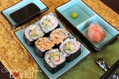 If you like sushi as much as we do, but never thought you could make anything resembling restaurant sushi at home, this post is for you! I'll share recipes, tips and techniques, and a great sushi kit that will help you pull it all together with a professional polish!