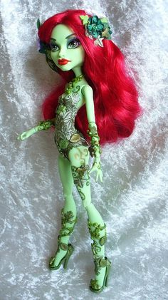 Monster High Custom Poison Ivy - side by redmermaidwerewolf, via Flickr