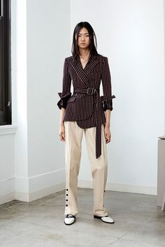 I'd love to lead a meeting in this outfit. Altuzarra Resort 2018 Fashion Show Collection