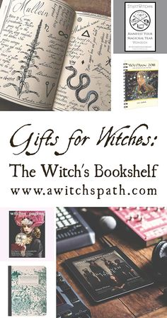 Gifts for Witches: The Witch's Bookshelf | Green Witchcraft | Portland | A Witch's Path