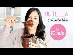 Nutella Saludable...mi Secreto para hacer la Nutella más FIT del mundo - YouTube