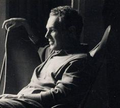 B.K.F. Retrato del Arquitecto Antoni Bonet sentado en el BKF,Barcelona,1961