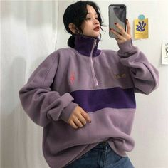 Pretty Outfits, Cool Outfits, Fashion Outfits, Teenager Mode, Mode Punk, Trendy Hoodies, Hooded Bomber Jacket, Winter Fits, Classic Skirts