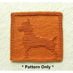 BOXER Dog Breed knitting pattern for dishcloth or wash cloth by Aunt Susan's Closet. Dishcloth Knitting Patterns, Knit Dishcloth, Baby Knitting, Boxer Dog Breed, Easy Knitting Projects, Cute Little Dogs, Medium Sized Dogs, Purl Stitch, Stuffed Animal Patterns