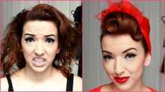 My Go To Quick Pinup Hair Style - Nasty to Classy She does great tutorials, i really love it!