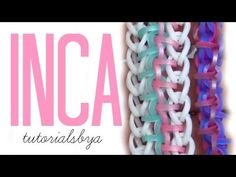 HOOK ONLY Inca Rainbow Loom Bracelet Tutorial | New Loomless How To - YouTube
