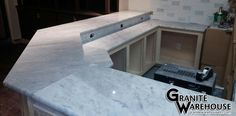 Check out this new marble bar installation! #granite #nashville #memphis #knoxville #countertops #kitchen #remodel
