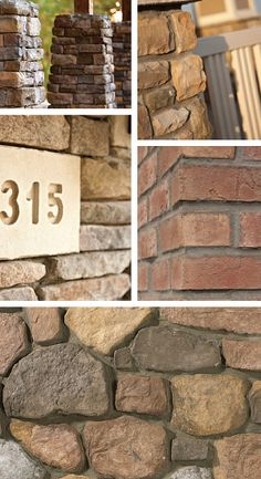 Stone veneer is a simple, yet sophisticated, style element that gives architectural authenticity to home exterior design.    Crafted from real stones, but lighter weight, Ply Gem Stone is an affordable way to add lasting curb appeal and character to your home's exterior or interior. It is an attractive alternative to solid rock and an ideal complement to traditional siding.