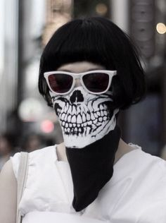 Coolness   jaw   mask   skull   bones