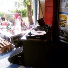 Lemabaga france jogjakarta #vinyl  #turntable #turntablism by wavingmanagement http://ift.tt/1HNGVsC