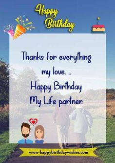 150+ Birthday Wishes For Wife ! Lots Of Happy Birthday Wife Quotes