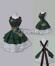 Video Game Legend of Zelda Style Full Cotton Green Sexy Woman Cosplay Retro Apron #Everyone Can Cosplay! Cosplay costumes #Anime Cosplay Accessories #Cosplay Wigs #Anime Cosplay masks #Anime Cosplay makeup #Sexy costumes #Cosplay Costumes for Sale #Cosplay Costume Stores #Naruto Cosplay Costume #Final Fantasy Cosplay #buy cosplay #video game costumes #naruto costumes #halloween costumes #bleach costumes #anime