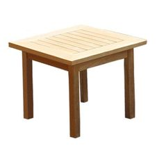 Have to have it. Royal Teak Miami Side Table - $199 @hayneedle