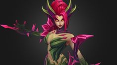 League of Legends: Zyra by maddytaylor