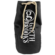Bandy Garthbrooks Canvas Drawstring Backpack Bucket Bag -- More info could be found at the image url. #GymBags