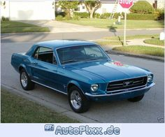 1967 Mustang Coupe | 1967 Ford Mustang Coupe