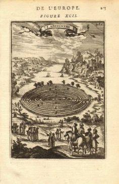 CRETE-CANDIA-CRETE-Labyrinth-abode-of-the-Minotaur-Greece-MALLET-1683