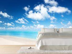 Guide To Discount Bedroom Furniture – Bedroom Furniture Beach Wall Murals, Custom Wall Murals, Wall Art, Wall Decals, Discount Bedroom Furniture, Cool Bookshelves, Pet Hotel, Dark Interiors, Beach Scenes