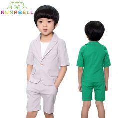 Children Brand Baby Boys Suits Kids Blazer Boys Formal Suit Birthday Party Dress Weddings Boys Clothes Set Coat Vest Pants F11