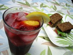 Hibiscus Tea Increases HDL, Lowers LDL and Triglycerides - and it makes the most delicious iced-tea