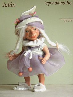 Goblin girl BJD doll. Art doll, ooak. Full body porcelain ball jointed doll by LegendLand Dolls