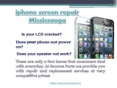 Esource parts deal in selling and repairing of iPhone repair Toronto and extends its services to iPhone screen repair Toronto and selling of spare parts like batteries,USBs etc.