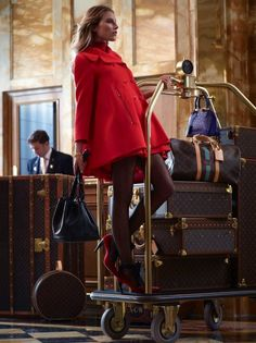 The Terrier and Lobster: Louis Vuitton Pre-Fall 2013 Lookbook: Dree Hemingway Hangs Out at the Hotel de Crillon in Paris, Shot by Koto Bolofo