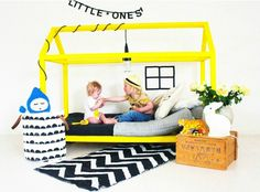 House Shaped Kids Bed