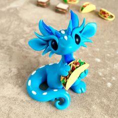Taco dragon by Dragons&Beasties