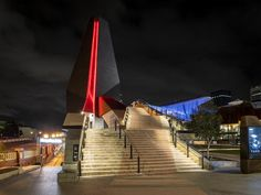 Yagn Square is a major Perth development sited created as a place for the community to meet, connect and celebrate. HIL combined brand such as Simes, We-Ef and KLIK to light the eateries and external features of the project
