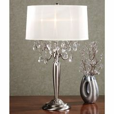Size w 14 h 295 l 14 3 lights go t204 gm c0036t w gallery table silver teardrop metal table lamp with bulbs aloadofball Image collections