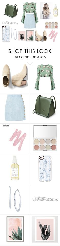 """Who Did That to You?"" by nightlight62 ❤ liked on Polyvore featuring Gap, ADRIANA DEGREAS, Balmain, Urban Decay, A Weathered Penny, Casetify, Thalia Sodi, Kendra Scott and Art Addiction"
