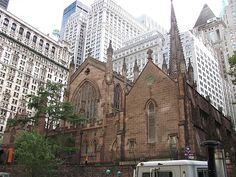 Trinity Church, New York, New York City, United States