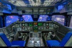 Photographs of Awesome Cockpits