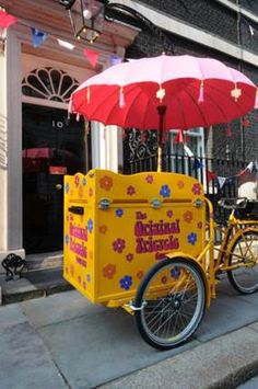 Ice cream Tricycle - so cool!