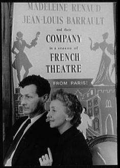 Jean-Louis Barrault and Madeleine Renaud