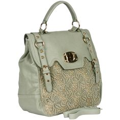 shut the front door...its mint and it has lace!!!!!! Charlotte Lace Buckle Satchel
