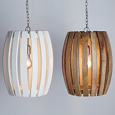 Barrel Pendant Lamp from The Company Store