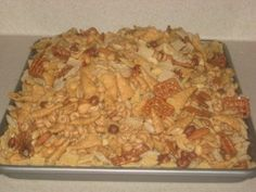 Peanut Butter Chex Mix Recipe
