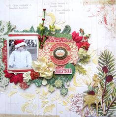 Believe- Scraps of Elegance December Kit Products Papers and stickers: MME Flowers: Petaloo Die cuts and metal cameo: BoBunny Crafters workshop stencil Golden light molding paste Shimmerz goldie lox Gold embossing powder