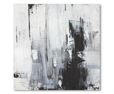 Digital-Leinwanddruck Black And White, 80 x 80 cm | Westwing Home & Living Sylwia Synak