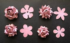Paper Flower Tutorial   craft-trade.org