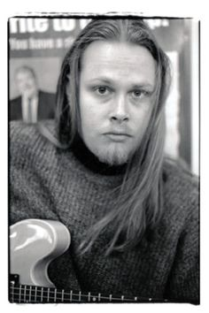 Robert, photographed on the Boston MBTA Subway Platform circa 1999-2000