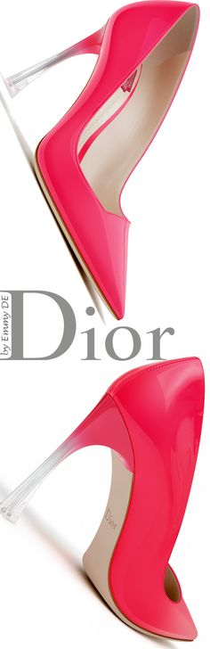 Emmy DE * Dior 'Songe' Summer 2016 ~ Goji Red Patent Calfskin Pump
