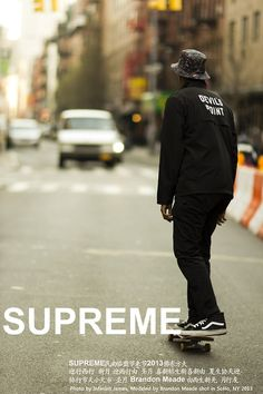 Supreme, Vans SS14 Menswear, Fashion,