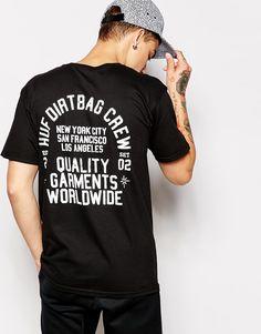 Image 1 of HUF T-Shirt With Back Print