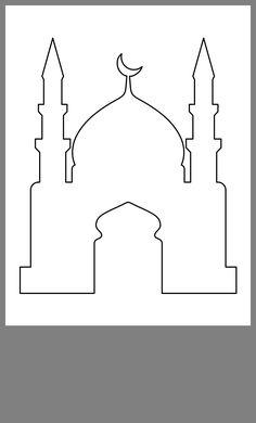 Jasmine, Decoraciones Ramadan, Eid Mubarak Wallpaper, Mosque Silhouette, Aladdin Party, Ramadan Lantern, Eid Cards, Ramadan Crafts, Islam For Kids