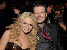 Miranda Lambert & Blake Shelton  Country music sweethearts Miranda Lambert and Blake Shelton are husband and wife! The adorable duo tied the knot on May 14 at the Don Strange Ranch in Boerne, Tex. Guests included Katherine Heigl and hubby Josh Kelley, Kelly Clarkson and Reba McEntire. Lambert, 27, and Shelton, 34, became engaged in May 2010, after dating for five years.