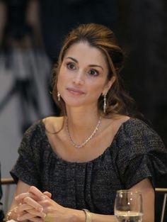 Rania, Queen of Jordan. I am such a fan!!!